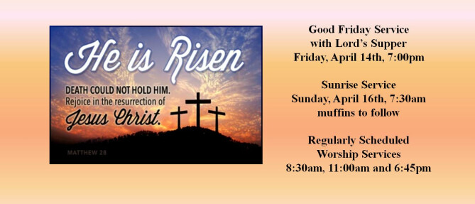 2017 Easter Services