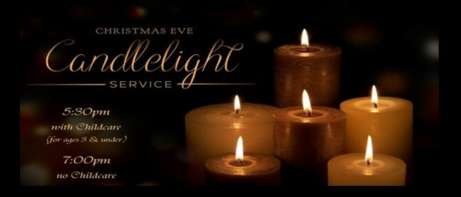 2017 Candlelight service